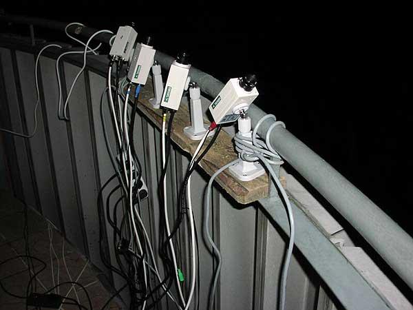 Rysunek 3 Stacja wideo pracująca w Ostrowiku składająca się z 4 kamer Tayama.